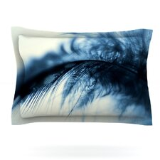 Fall in Blue by Ingrid Beddoes Cotton Pillow Sham