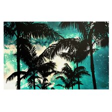 Palm Trees and Stars by Caleb Troy Decorative Doormat