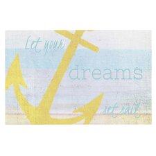 Let Your Dreams Set Sail by Alison Coxon Decorative Doormat