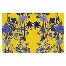 Bloom Flower by Debora Chodik Decorative Doormat