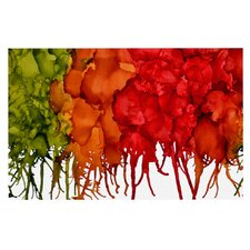 Fall Splatter by Claire Day Decorative Doormat