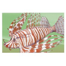 Fish Manchu by Catherine Holcombe Decorative Doormat