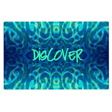 Tattooed Discovery by Caleb Troy Decorative Doormat
