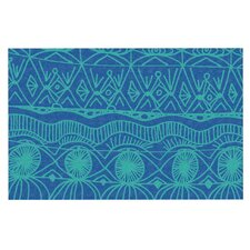 Beach Blanket Confusion by Catherine Holcombe Decorative Doormat