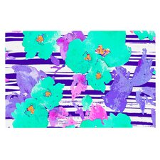 Cherry Blossom by Emine Ortega Decorative Doormat