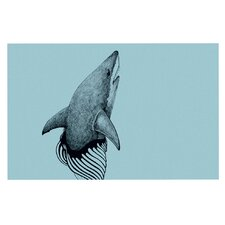 Shark Record II by Graham Curran Decorative Doormat