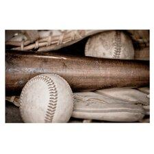 Play Ball by Debbra Obertanec Baseball Decorative Doormat