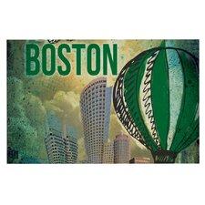 Boston by iRuz33 Decorative Doormat