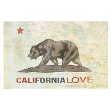 Cali Love by iRuz33 Decorative Doormat