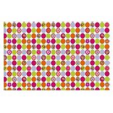 Happy Circles by Julia Grifol Decorative Doormat