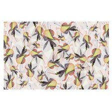 Fuchsia on the Wind by Akwaflorell Decorative Doormat