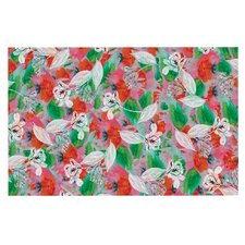 Flying Tulips by Akwaflorell Decorative Doormat