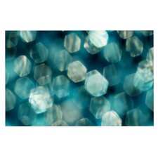 Shades of Blue by Ingrid Beddoes Decorative Doormat