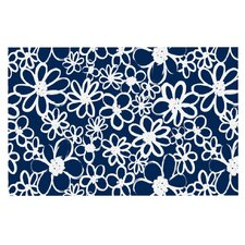 Daisy Lane by Emine Ortega Decorative Doormat