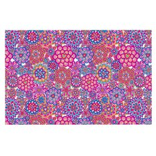 My Happy Flowers by Julia Grifol Decorative Doormat