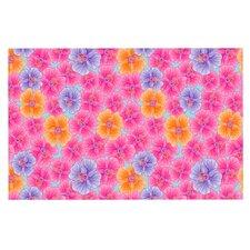 My Pink Garden by Julia Grifol Decorative Doormat