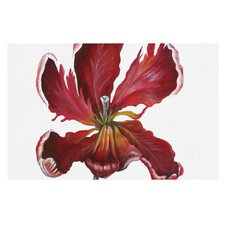 Open Tulip by Lydia Martin Decorative Doormat