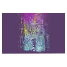 Purple Rain by Frederic Levy-Hadida Decorative Doormat