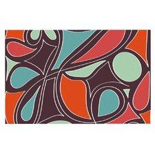 Retro Swirl by Miranda Mol Decorative Doormat
