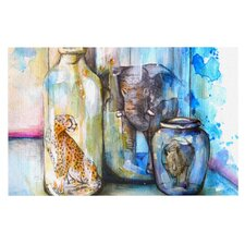 Bottled Animals by Kira Crees Decorative Doormat