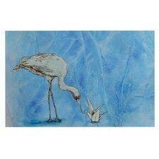 Crane by Kira Crees Decorative Doormat