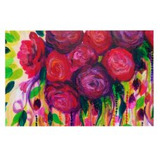 Roses Are Red by Ebi Emporium Decorative Doormat