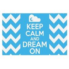 Keep Calm by Nick Atkinson Decorative Doormat