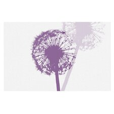 Dandelion by Monika Strigel Flower Decorative Doormat