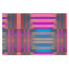 Tracking by Nina May Stripes Decorative Doormat