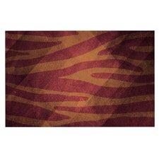 Zebra Texture by Nick Atkinson Decorative Doormat