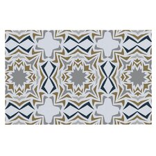 Ice Stars by Miranda Mol Decorative Doormat
