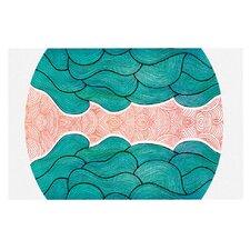 Ocean Flow by Pom Graphic Design Decorative Doormat
