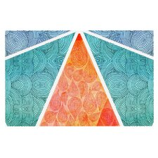 Pyramids of Giza by Pom Graphic Design Decorative Doormat
