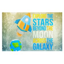 Explore the stars by Nick Atkinson Decorative Doormat