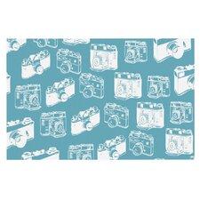 Camera Pattern Decorative Doormat