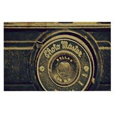 Discarded Treasure by Robin Dickinson Vintage Camera Decorative Doormat