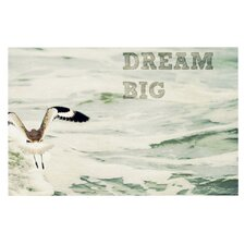 Dream Big by Robin Dickinson Ocean Bird Decorative Doormat