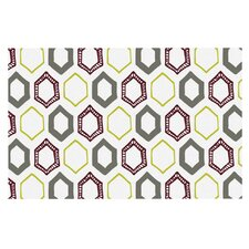 Hexy Small by Laurie Baars Geometric Decorative Doormat