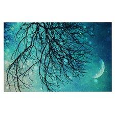 Winter Moon by Sylvia Cook Decorative Doormat