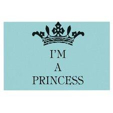 I'm a Princess by Louise Machado Decorative Doormat