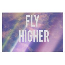Fly Higher by Rachel Burbee Decorative Doormat