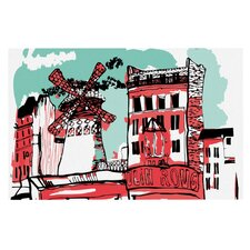 Montmartre by Theresa Giolzetti Decorative Doormat