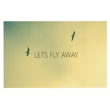 Let's Fly Away by Richard Casillas Decorative Doormat