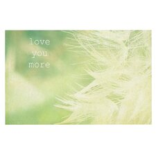 Love You More by Robin Dickinson Decorative Doormat