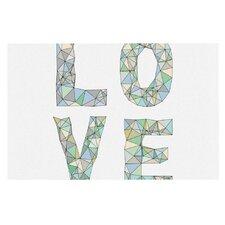 Four Letter Word by Skye Zambrana Decorative Doormat