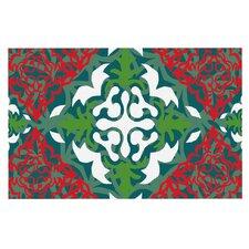 Lace Flakes by Miranda Mol Decorative Doormat