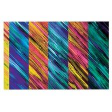 Set Stripes I by Theresa Giolzetti Decorative Doormat