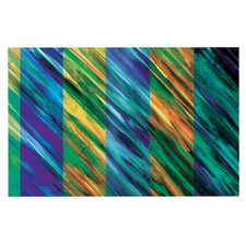 Set Stripes II by Theresa Giolzetti Decorative Doormat