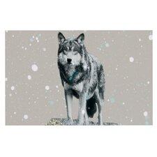 Wolf by Monika Strigel Decorative Doormat