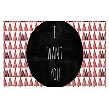 I Want You by Skye Zambrana Decorative Doormat